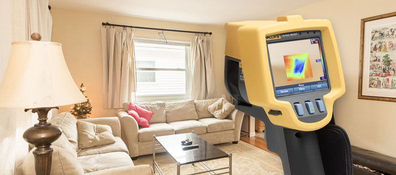 Get a thermal (infrared) home inspection from Blue Ridge Home Inspections